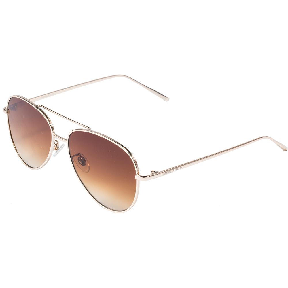 Ochelari de soare cafenii, pentru dama, Daniel Klein Trendy, DK4262P-2
