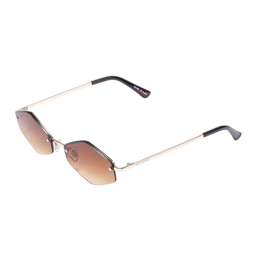 Ochelari de soare cafenii, pentru dama, Daniel Klein Trendy, DK4278P-2