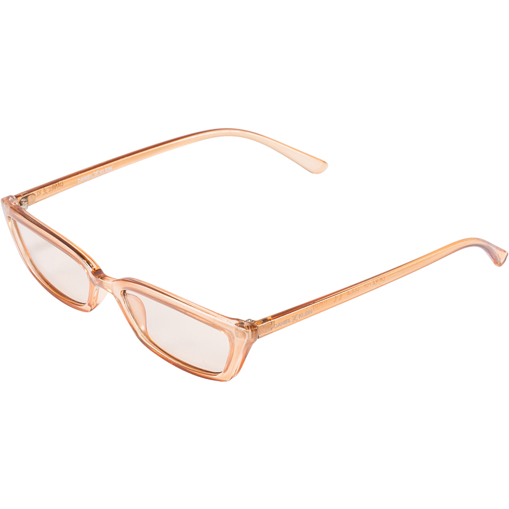 Ochelari de soare maro, pentru dama, Daniel Klein Trendy, DK4276P-2