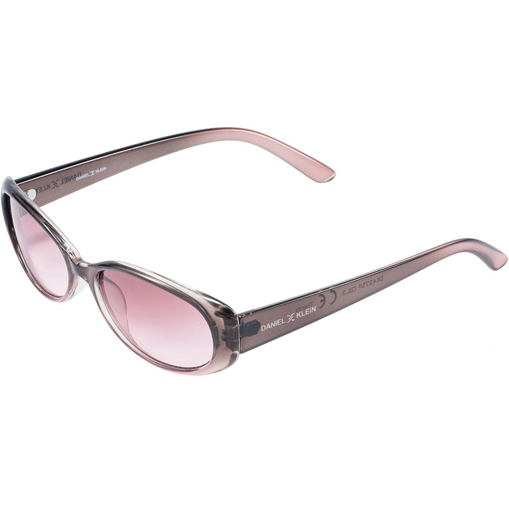 Ochelari de soare mov, pentru dama, Daniel Klein Trendy, DK4275P-3