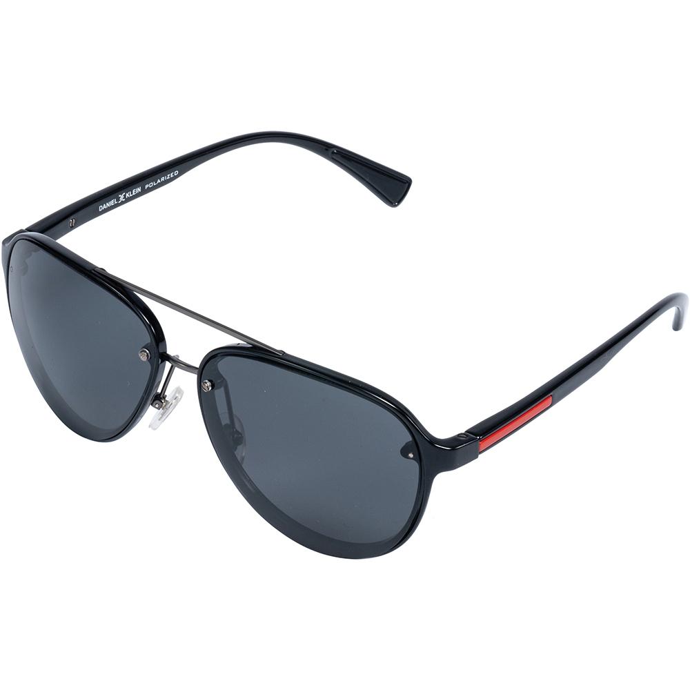 Ochelari de soare negri, pentru barbati, Daniel Klein Premium, DK3200-1