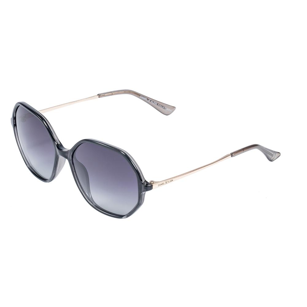Ochelari de soare negri, pentru dama, Daniel Klein Trendy, DK4251-2