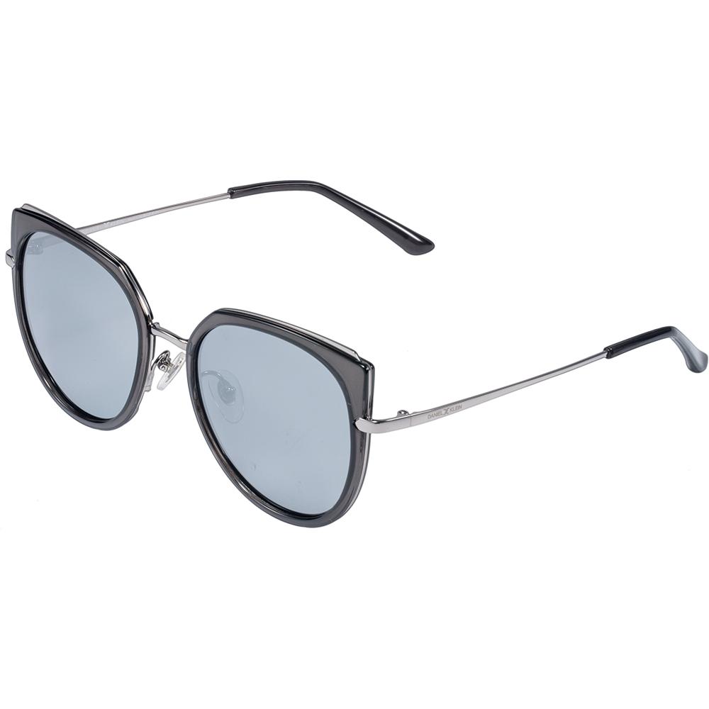 Ochelari de soare negri, pentru dama, Daniel Klein Trendy, DK4255-3
