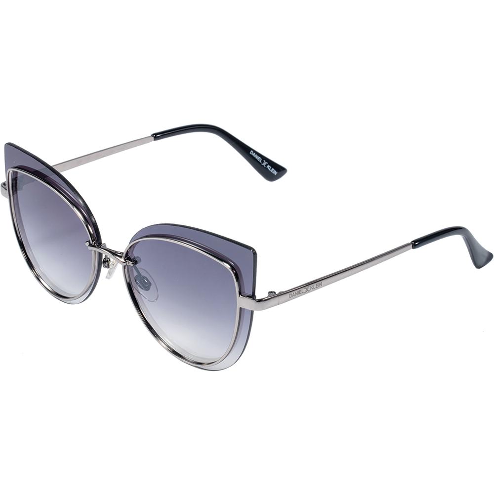 Ochelari de soare negri, pentru dama, Daniel Klein Trendy, DK4257P-1