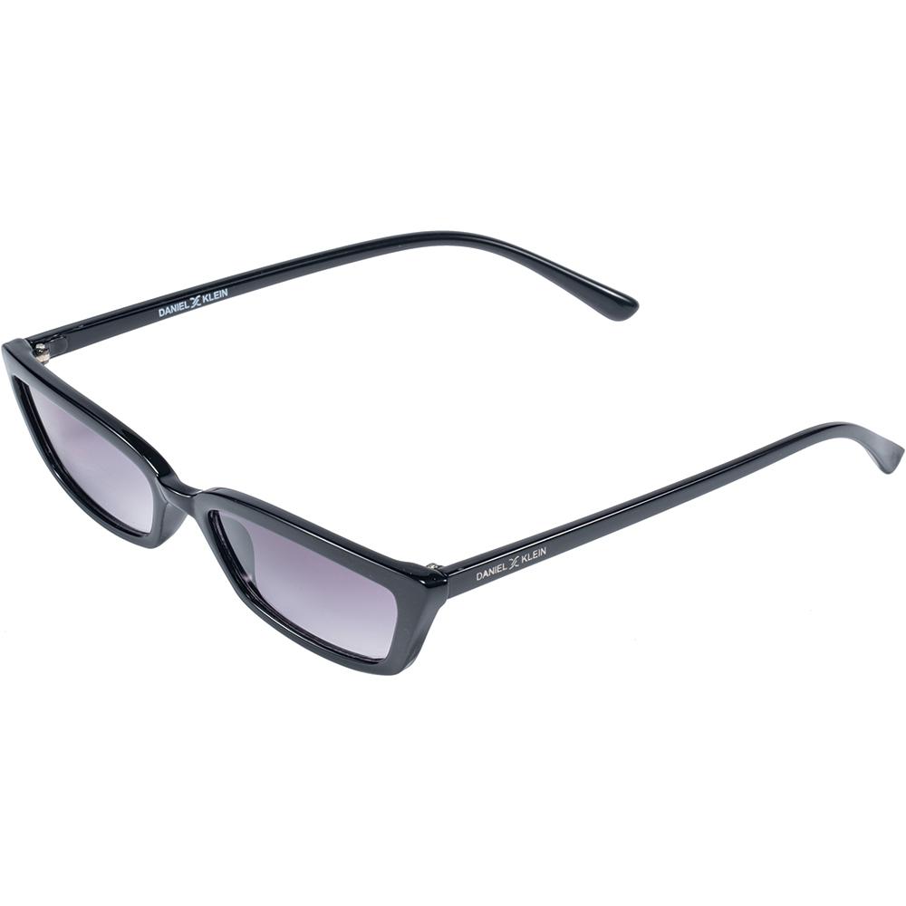 Ochelari de soare negri, pentru dama, Daniel Klein Trendy, DK4276P-1