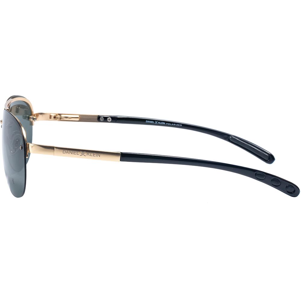 Ochelari de soare verzi, pentru barbati, Daniel Klein Premium, DK1260-7