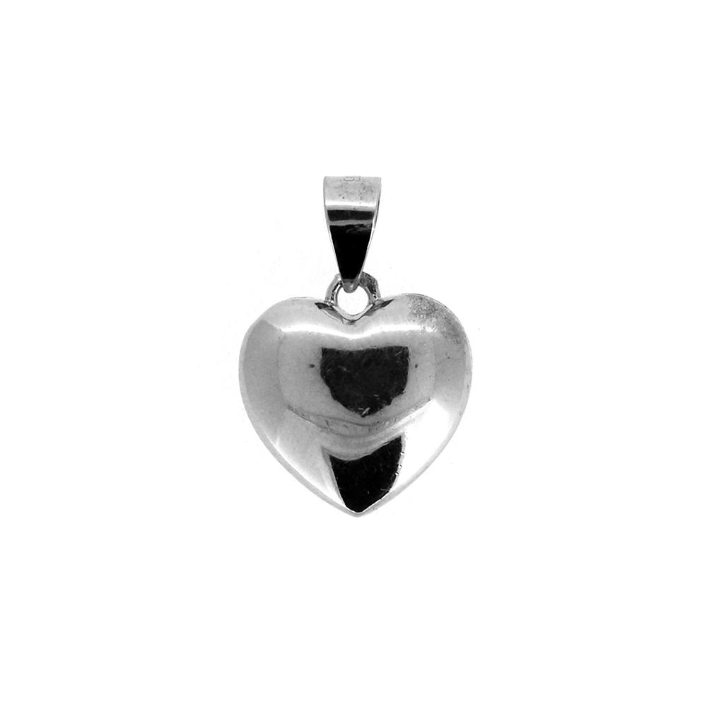 Pandantiv inima din Argint 925, cu zirconii albe