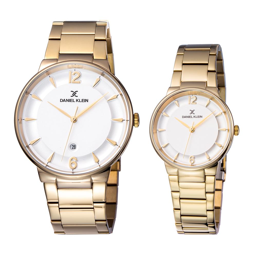 Set ceasuri pentru dama si barbati, Daniel Klein Pair, DK11976-4