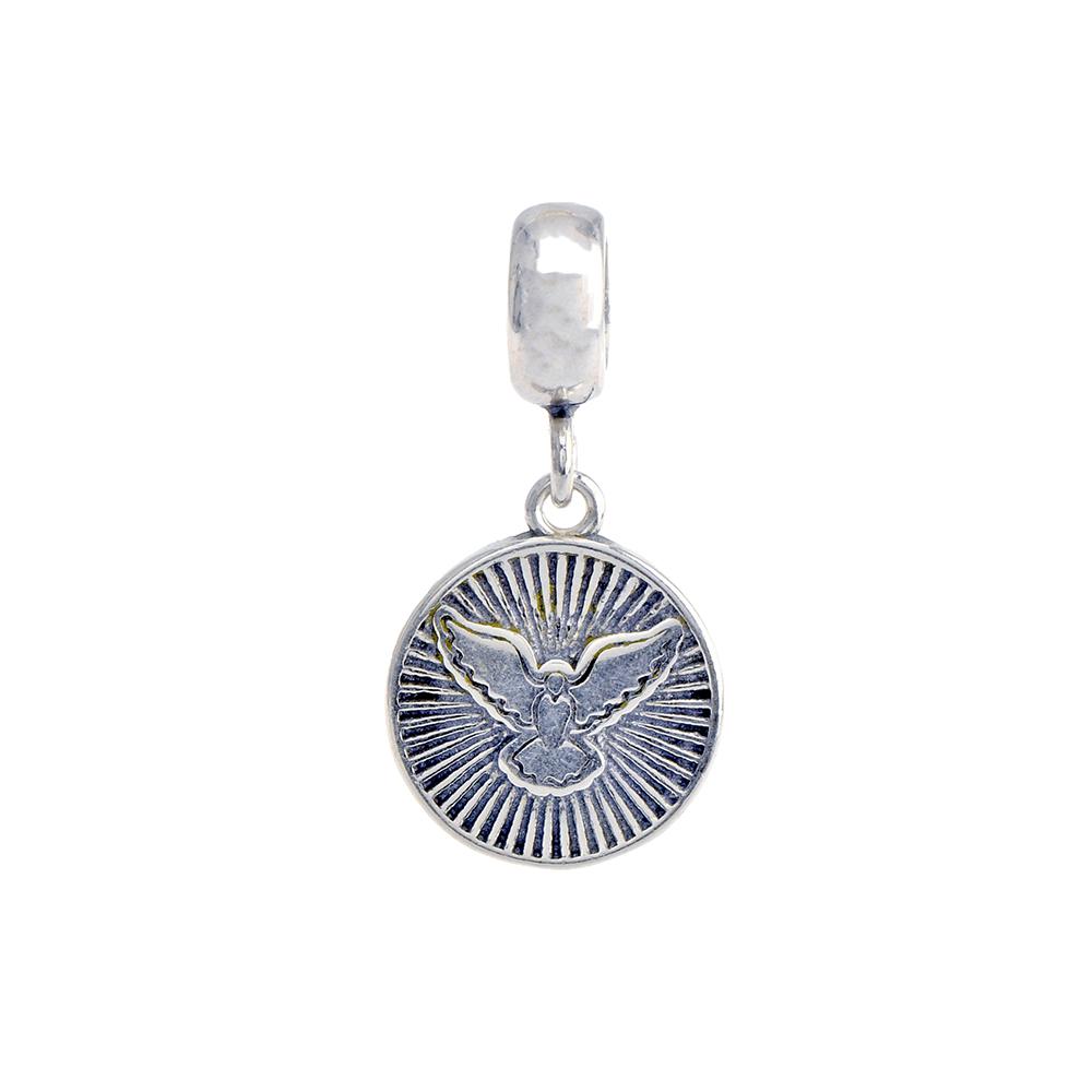 Talisman porumbel din Argint 925