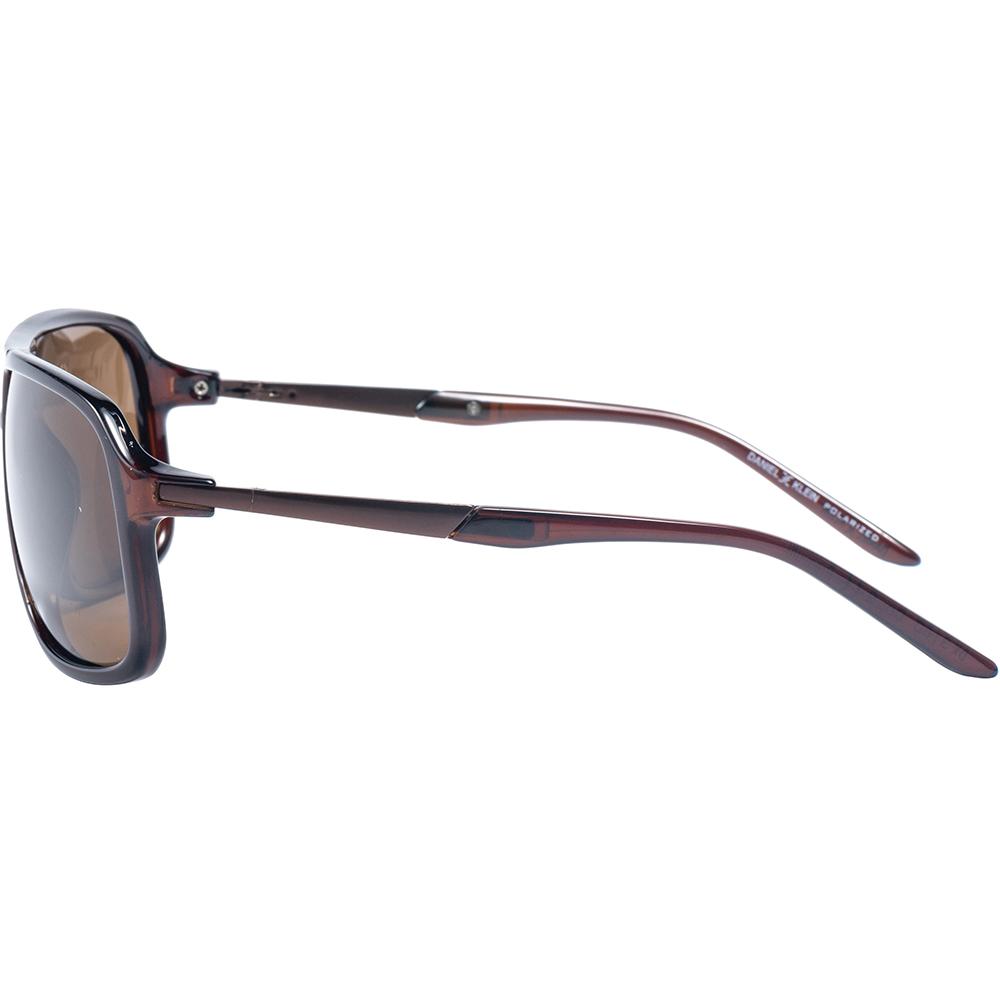 Ochelari de soare maro, pentru barbati, Daniel Klein Premium, DK3160-2