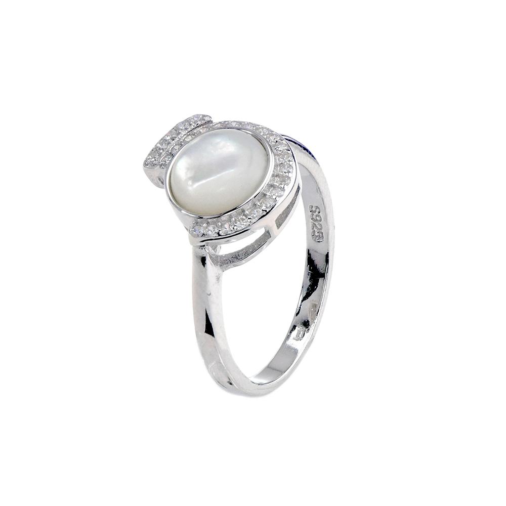 Set argint Mother of Pearl, marime 52