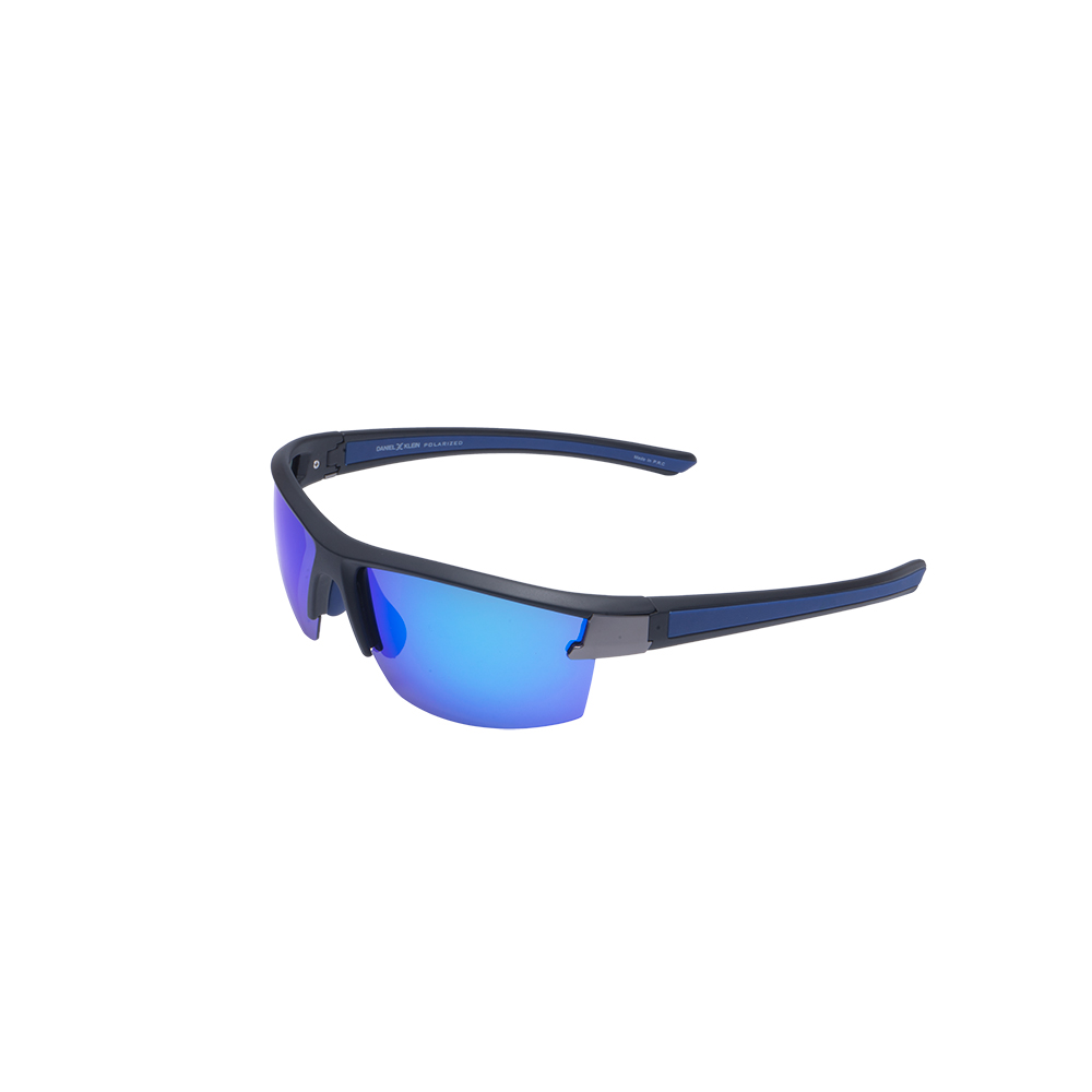 Ochelari de soare albastri, pentru barbati, Daniel Klein Premium, DK3223-4