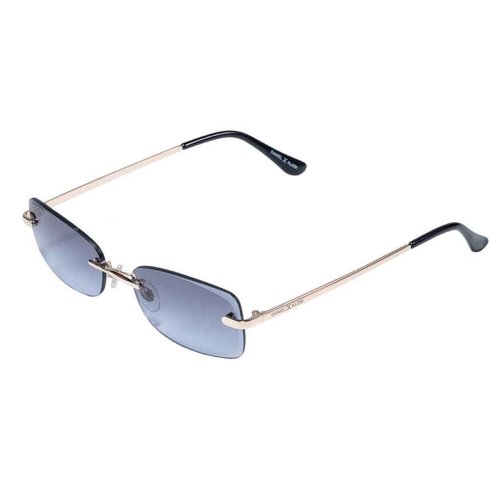 Ochelari de soare bleumarin, pentru dama, Daniel Klein Trendy, DK4271P-4