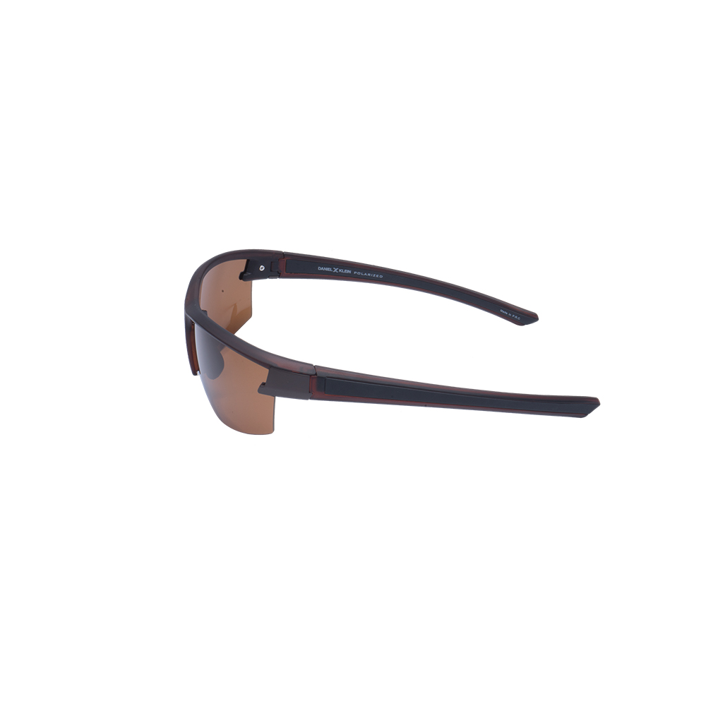 Ochelari de soare maro, pentru barbati, Daniel Klein Premium, DK3223-3