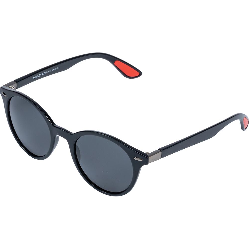 Ochelari de soare negri, pentru barbati, Daniel Klein Premium, DK3199-4