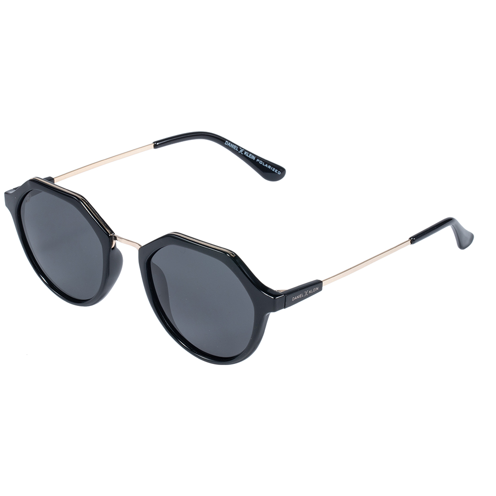 Ochelari de soare negri, pentru dama, Daniel Klein Trendy, DK4265-1