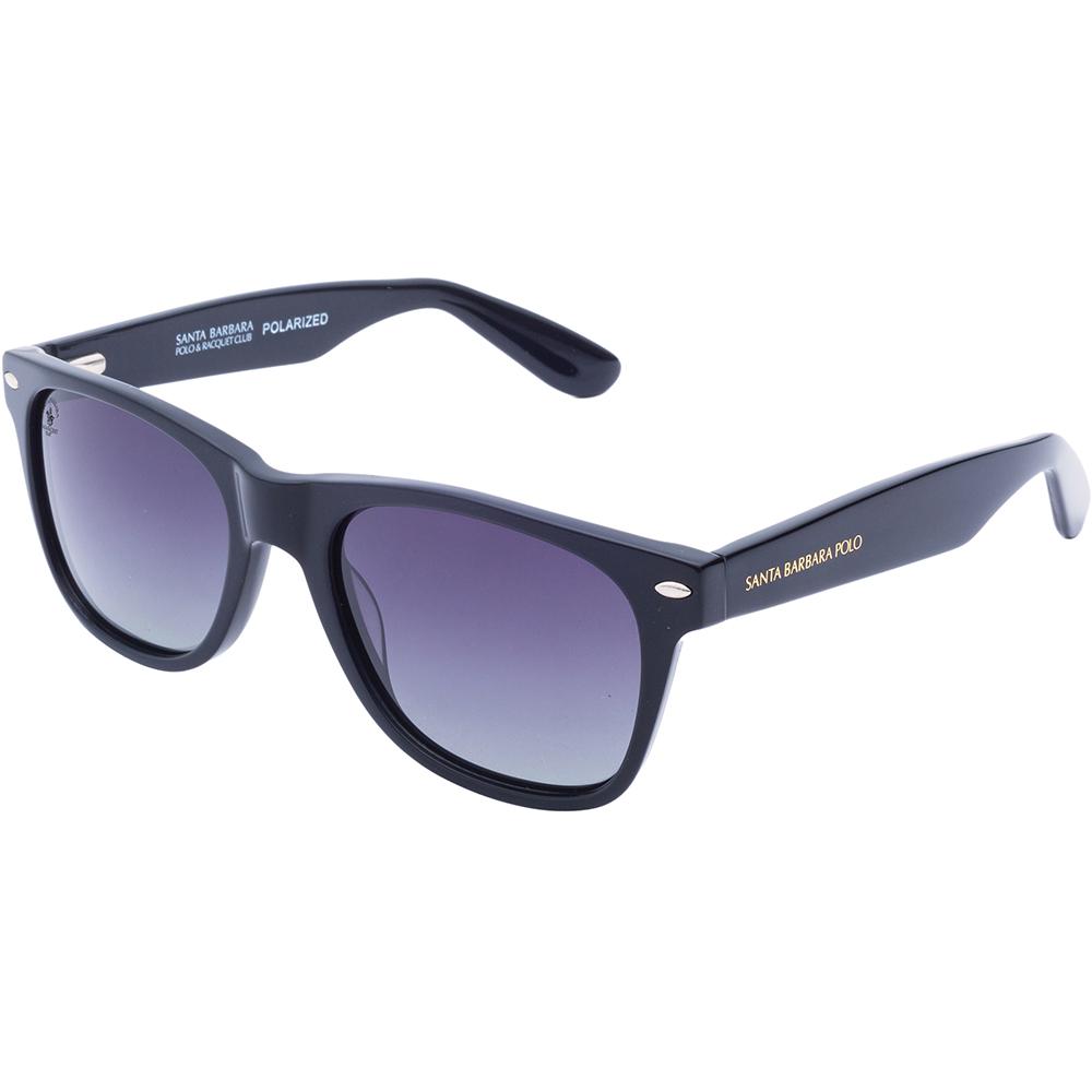 Ochelari de soare negri, pentru barbati, Santa Barbara Polo Noble, SB1042-4