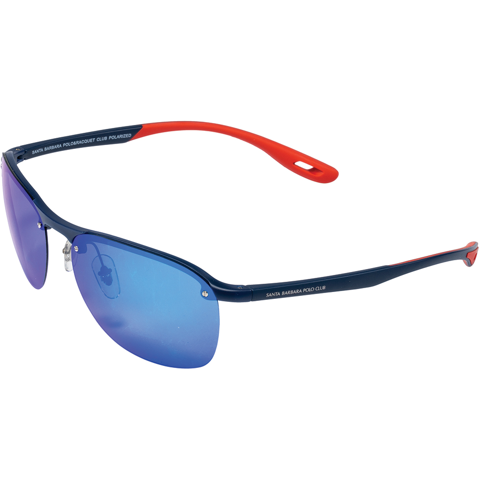 Ochelari de soare albastri, pentru barbati, Santa Barbara Polo Prive, SB1055-1