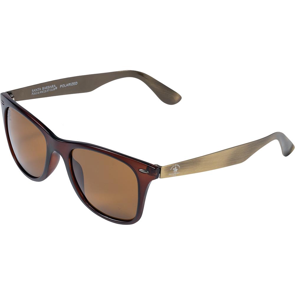 Ochelari de soare maro, pentru barbati, Santa Barbara Polo Prive, SB1061-4