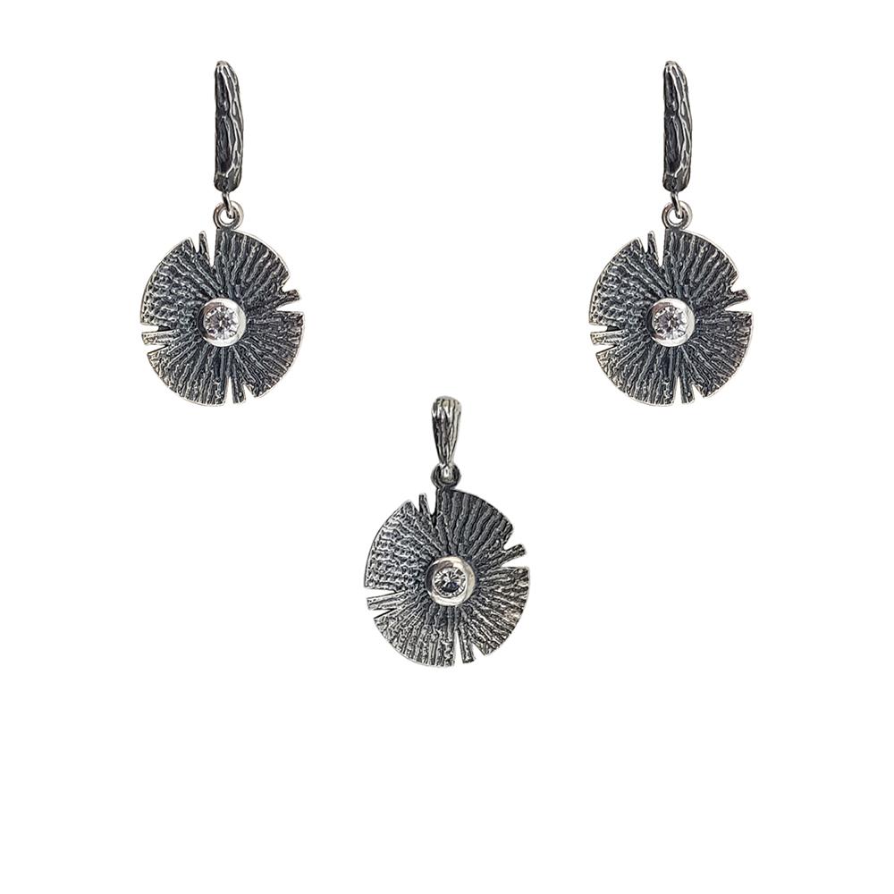 Set argint model aztec