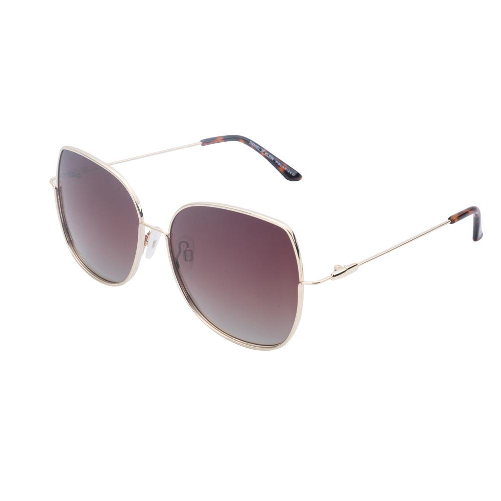 Ochelari de soare maro, pentru dama, Daniel Klein Trendy, DK4296-2