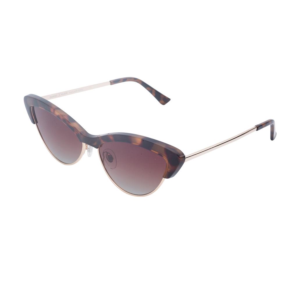 Ochelari de soare maro, pentru dama, Daniel Klein Trendy, DK4304-2