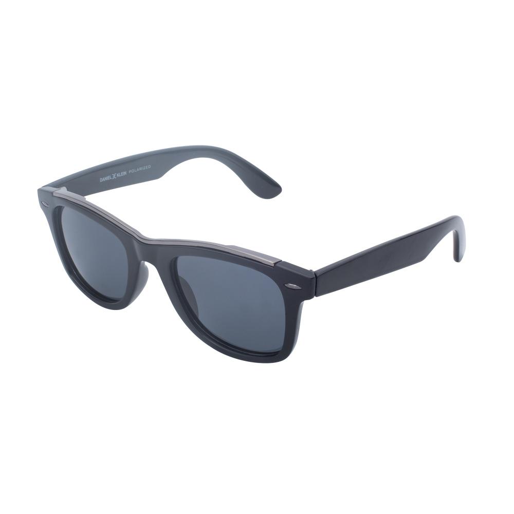 Ochelari de soare negri, pentru barbati, Daniel Klein Premium, DK3243-1