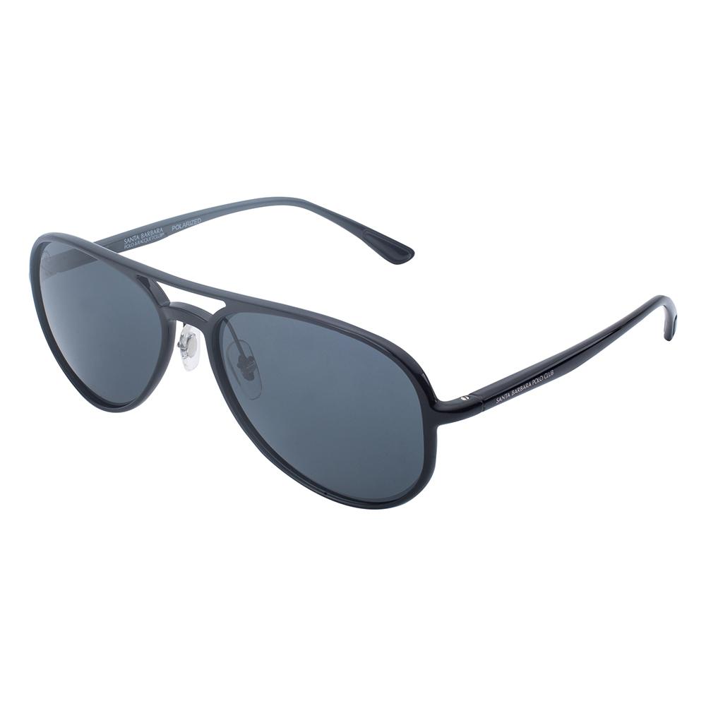 Ochelari de soare negri, pentru barbati, Santa Barbara Polo Prive, SB1074-1