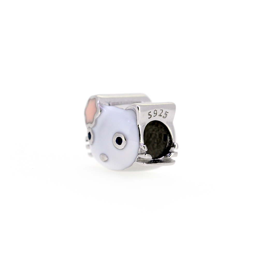Talisman argint Hello Kitty