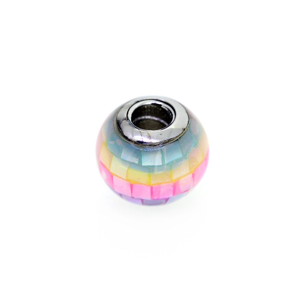 Talisman argint rainbow