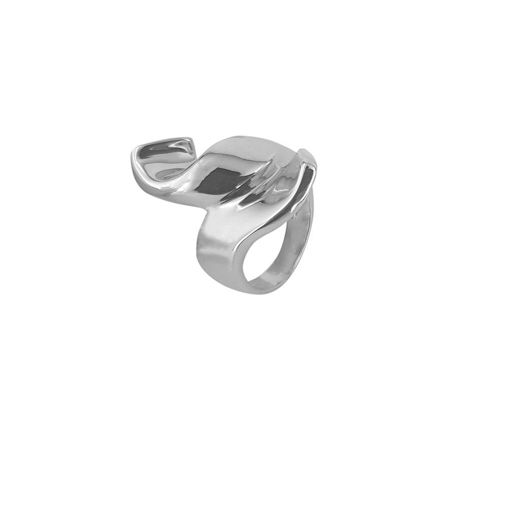 Inel din argint cu design modern, marime 55