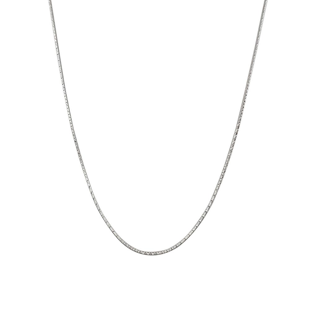 Lant argint rodiat, lungime 40 cm