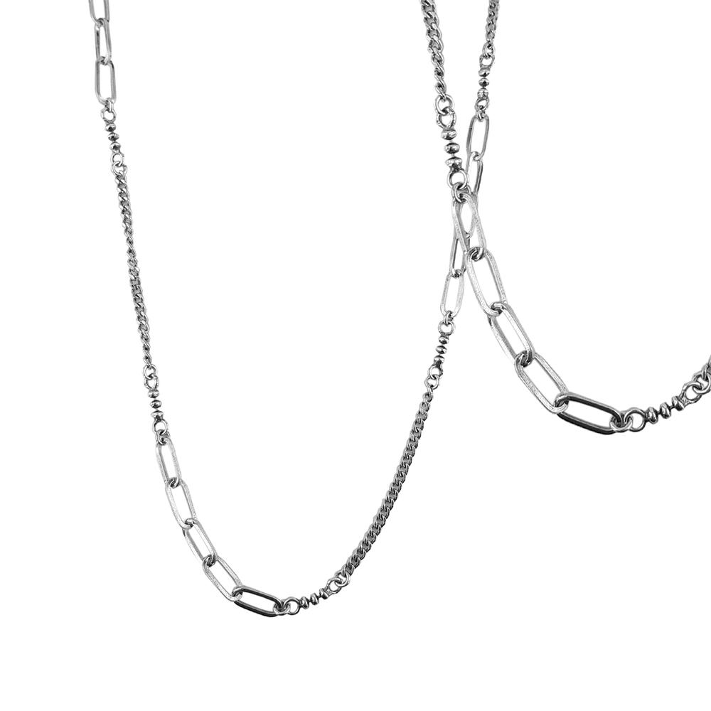 Lant argint three links