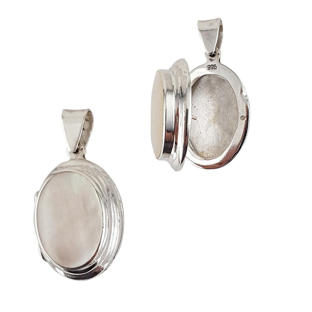 Pandantiv argint cu sidef