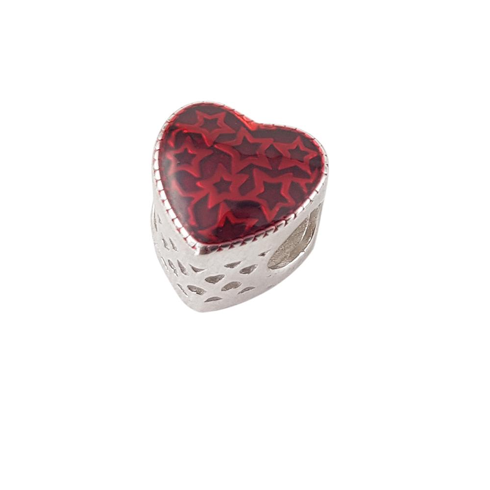 Talisman argint heart in love