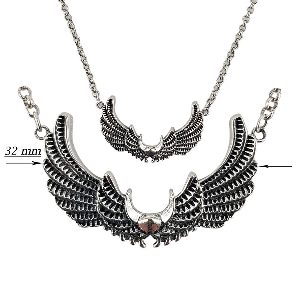 Lant argint angel wings