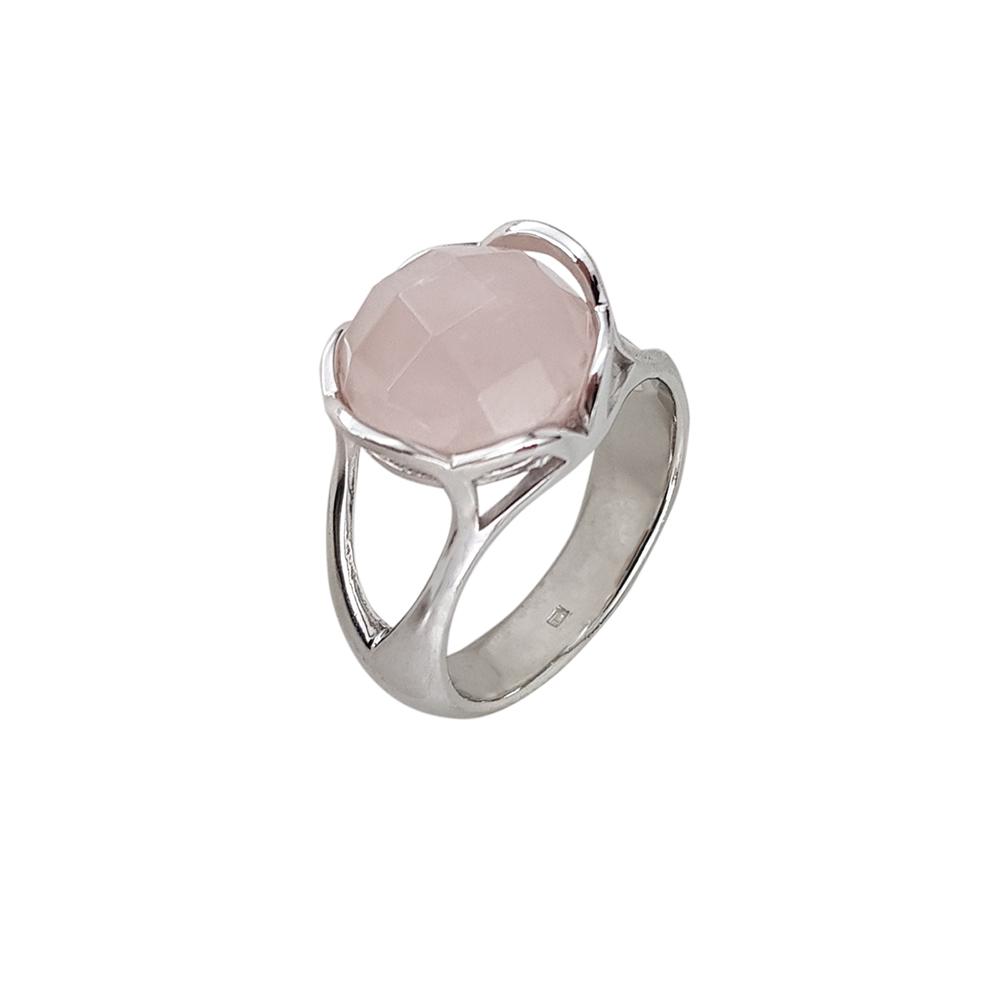 Inel argint pink glamour, marime 56