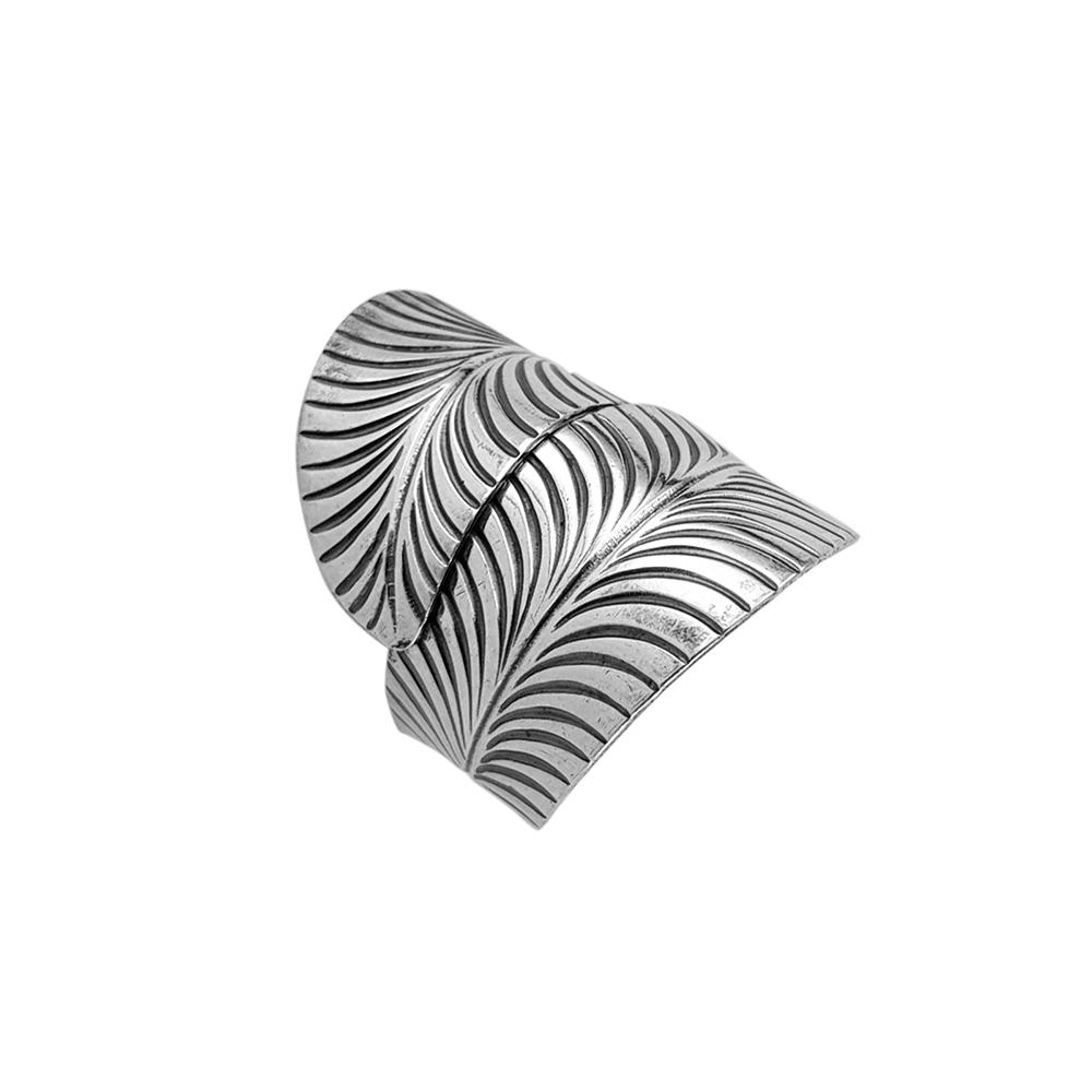 Inel argint reglabil Chanti, lucrat manual