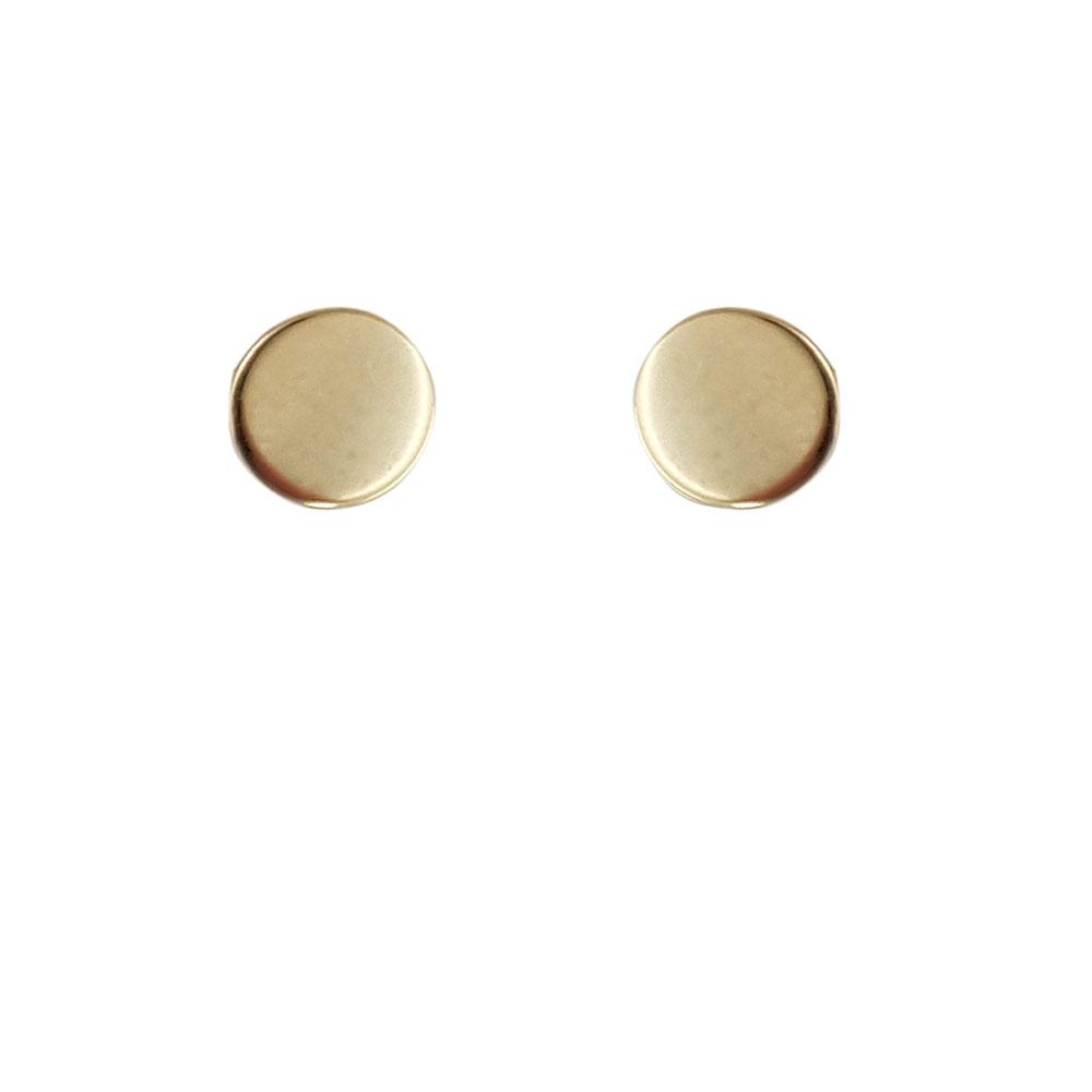 Cercei banut aur 14K cu surub image0
