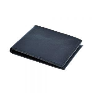 Portofel negru, pentru barbati, din piele naturala, R811-23