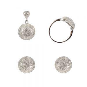 Set argint round silver, marime 60