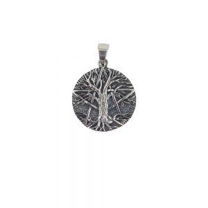 Pandantiv argint Aliya stilizat