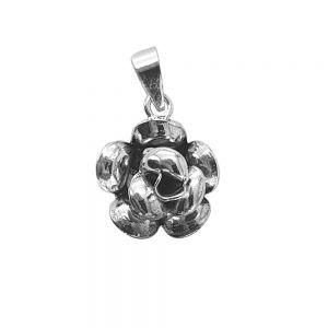 Pandantiv argint Diah in forma de floare