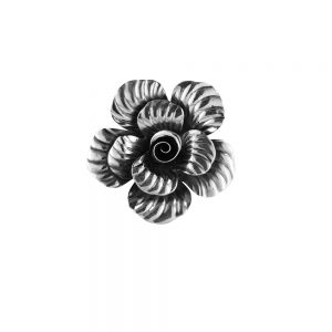 Pandantiv argint Nisah, model floare, lucrat manual