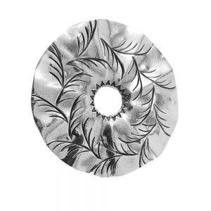 Pandantiv argint Sunan, lucrat manual, Indonezia