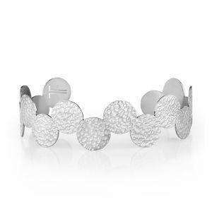 Bratara argintie, Freelook, pentru dama, din otel inoxidabil, FRJ.3.3007-1