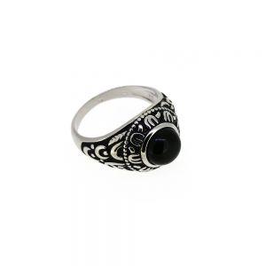 Inel argint antichizat pentru barbati, marime 64