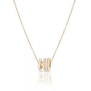 Lant auriu, Daniel Klein, pentru dama, din otel inoxidabil, DKJ.2.4003-2